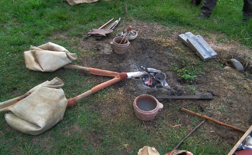 Casting Bronze in the Italian Bronze Age Way!