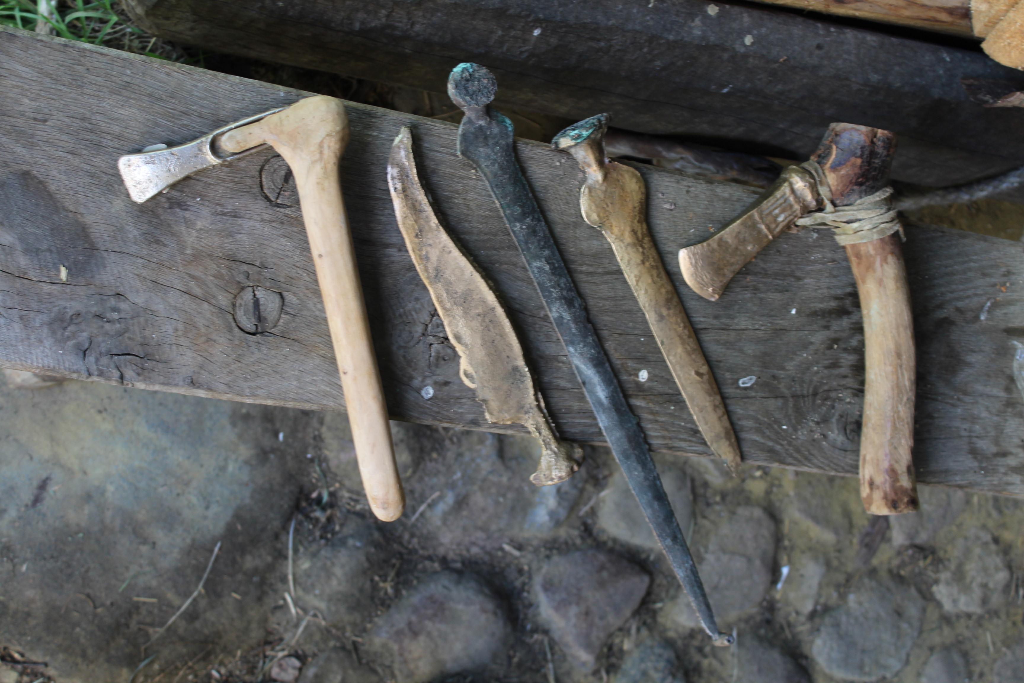 reproduction Impressive stone age tool Danish type
